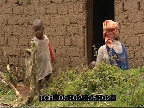 Village life in Rwanda - Africa - Rushes - 2002