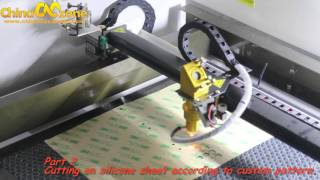 ChinaCNCzone 50W 60W 80W CO2 Laser Engraving Machine for Acrylic and Silicon Products Demo