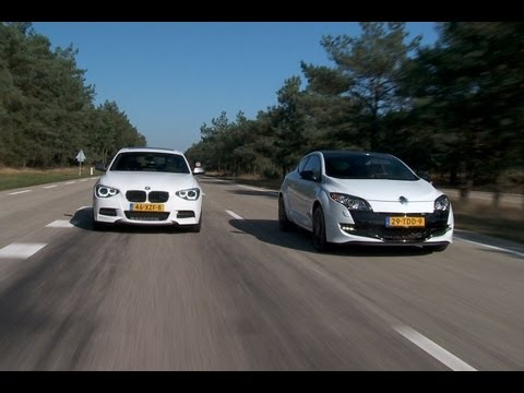 BMW M135i vs Renault Megane RS Trophy (English subtitled)