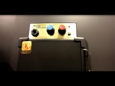 NAMM 2015 - EDEN Micro Tour MINI Bass Amplifier - Killer Mini Stack!