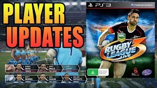 Rugby League Live 3: Player Stats Update - NRL Video Game