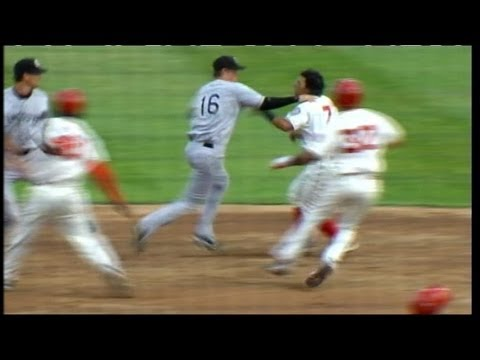 Massive fight breaks out at Minor League Baseball game