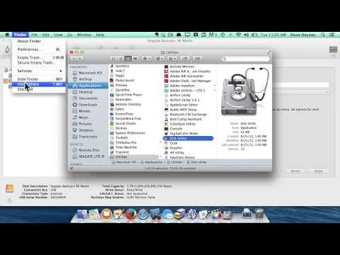 How to use Disk Utility on an Apple iMac or Macintosh