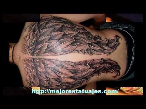 Los Mejores Tatuajes De Alas Youtube