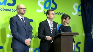 NAŽIVO: Ministerka klame a Most-Híd pácha politické harakiri, tvrdí SaS