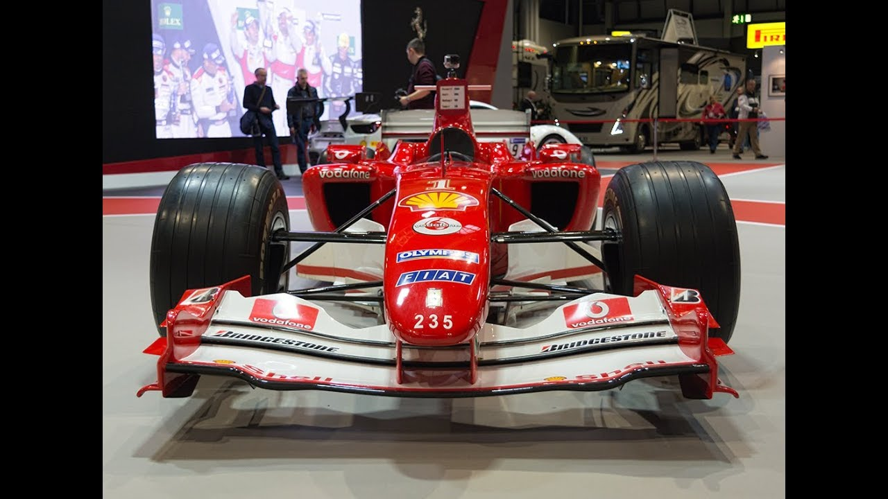 Ferrari F2004 Ferrari S Greatest Formula 1 Car Up Close Youtube