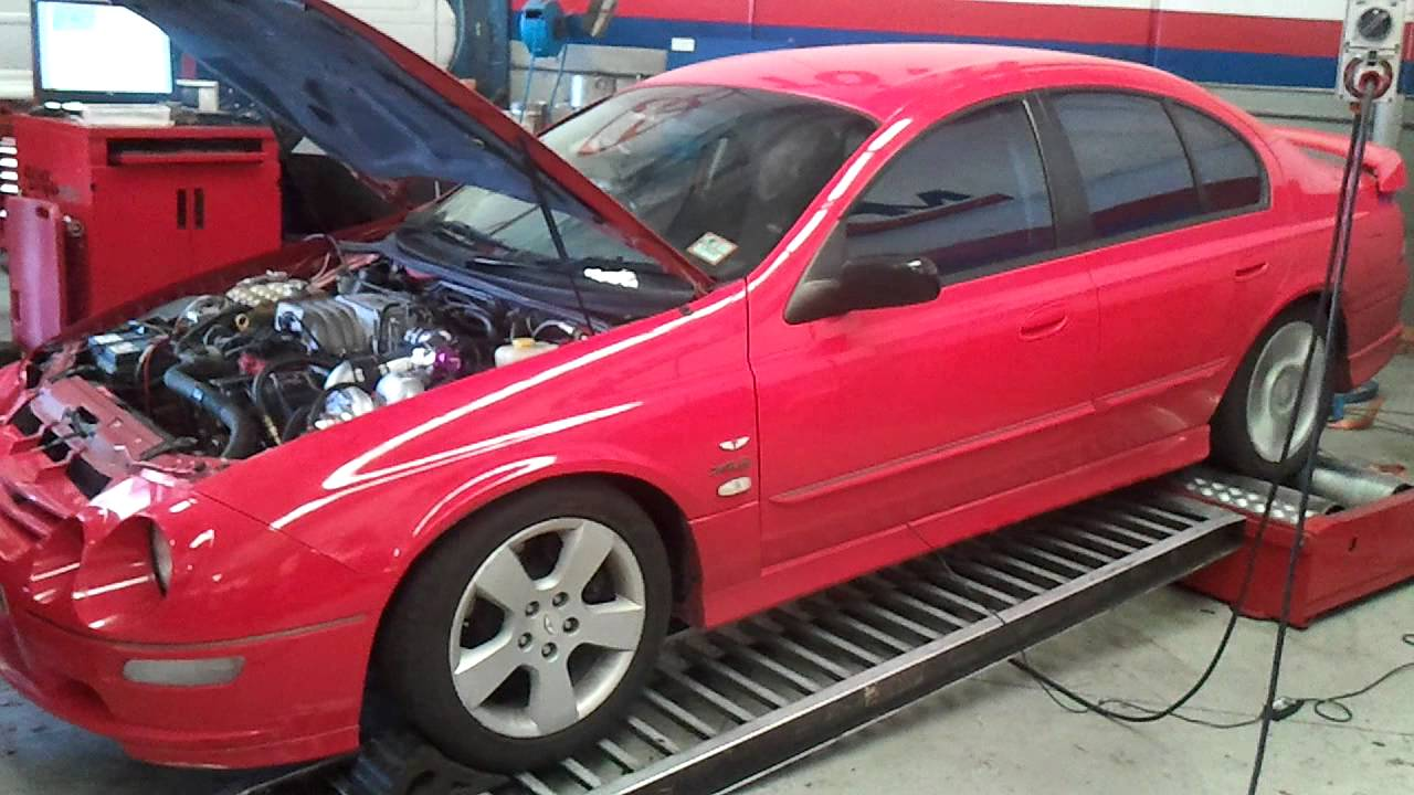 Raptor Supercharged Au Xr8 Youtube