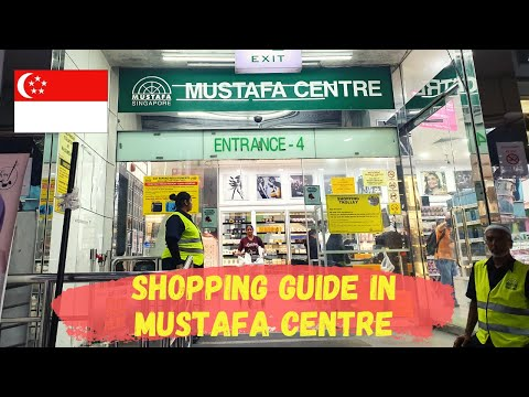 MUSTAFA CENTRE - Singapore Travel Guide Series