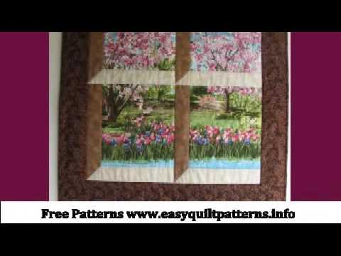 Easy Peasy Quilt Easy Attic Window Quilt Block Youtube