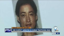3rd suspect arrested in human trafficking/prostitution case