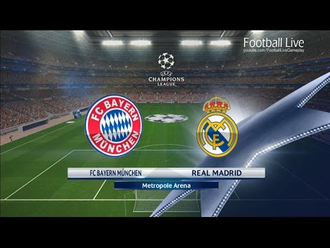 PES 2017 | UEFA Champions League | Bayern Munich vs Real Madrid | Gameplay PC