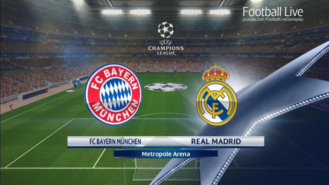 PES 2017 | UEFA Champions League | Bayern Munich vs Real Madrid | Gameplay  PC