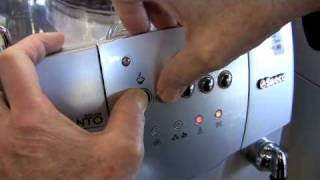 How to Change the Dosage on the Saeco Incanto Classic