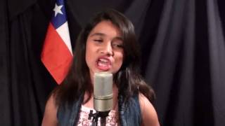Abraham Mateo (12 años) & Gabriela Sepúlveda (11años) - UN 5 DE AGOSTO