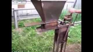 изготовление кирпича(самоделкин., 2013-09-14T01:25:42.000Z)