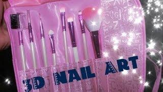 Makeup Brushes Review (3DNailArt) Thumbnail