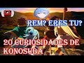 20 Curiosidades de Konosuba Parte 2 (Anime vs Novela Sin spoilers +/-)