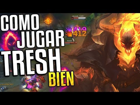ESTE VIDEO TE INTERESA SI ERES MAIN SUPPORT! (Thresh Cosecha Oscurra) League Of Legends