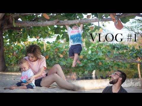 FIRST VLOG! KYSON HANGING FROM TREES   KY'S LIFE