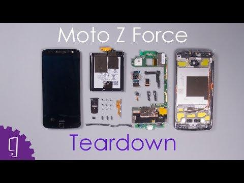 Moto Z Force Teardown|Disassembly