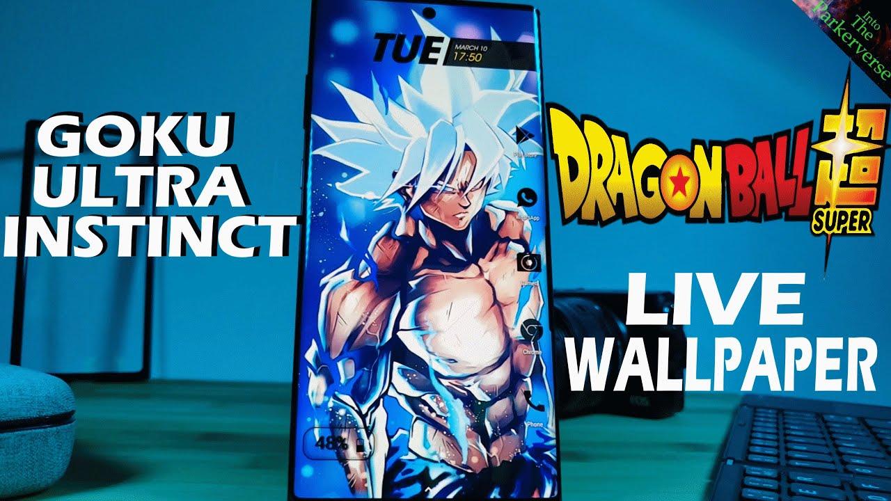 Dragonball Super Goku Ultra Instinct Live Wallpaper Android