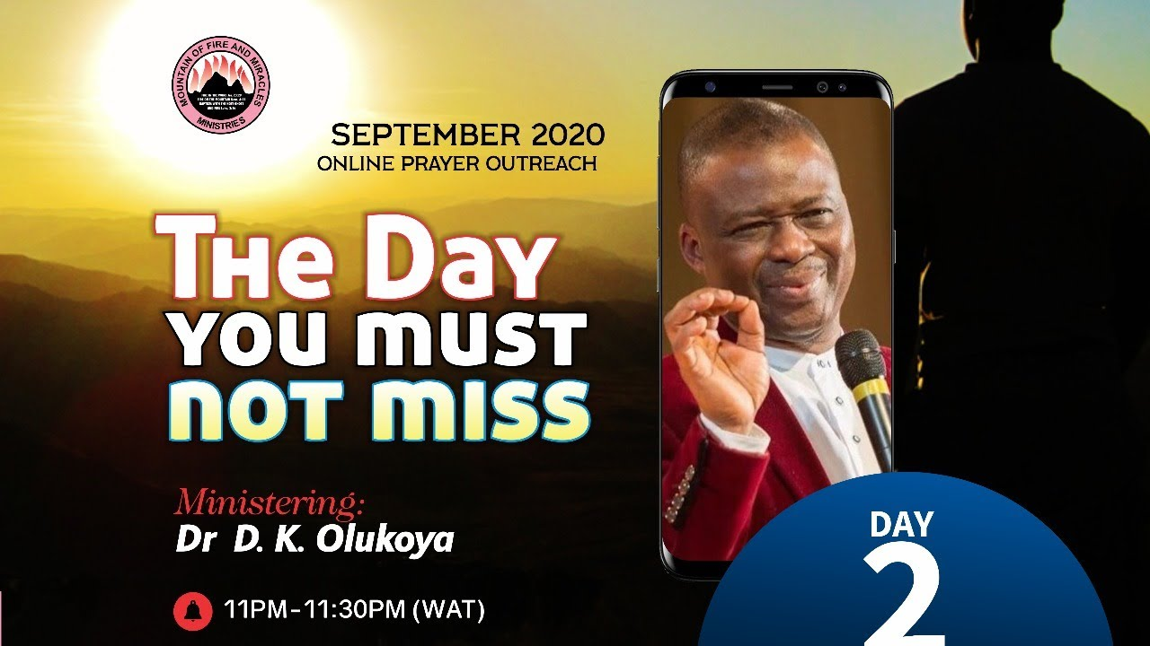 THE DAY YOU MUST NOT MISS | ONLINE PRAYER OUTREACH DAY 2