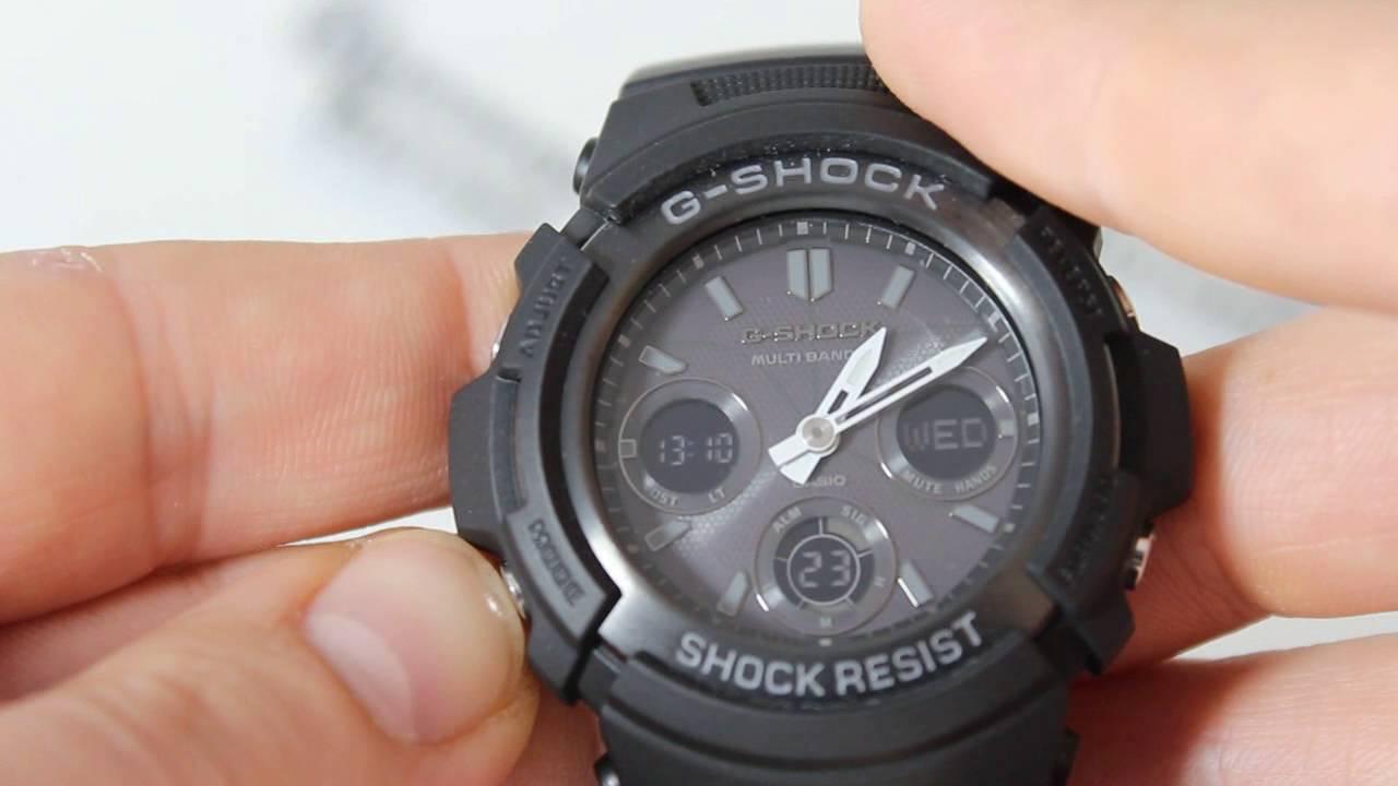 Инструкция к часам casio g shock protection