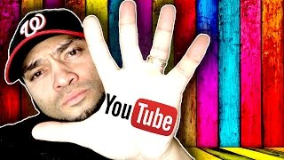 5 Reasons You Should Never Start A YouTube Channel