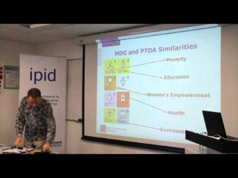 Prof. Richard Heeks at IPID 8th Symposium in 2013, Cape Town