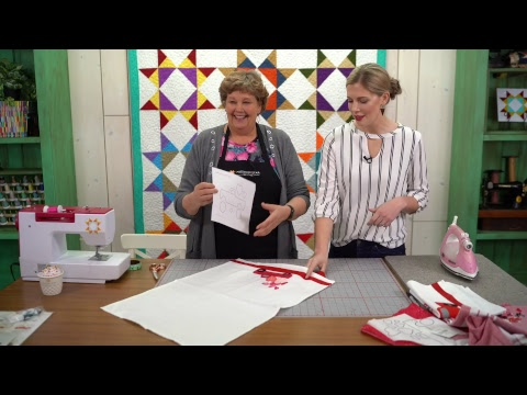 REPLAY: Loads of Love Valentine's Day Sewing Project with Jenny and Misty (Video Tutorial)