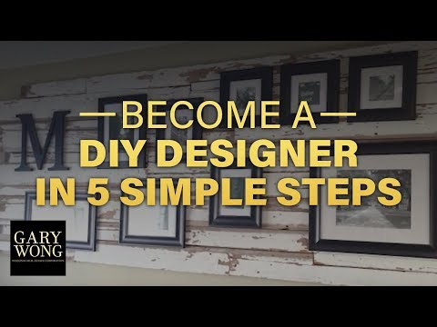 How To Become a DIY Interior Designer in 5 Simple Steps