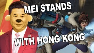Mei Stands with Hong Kong