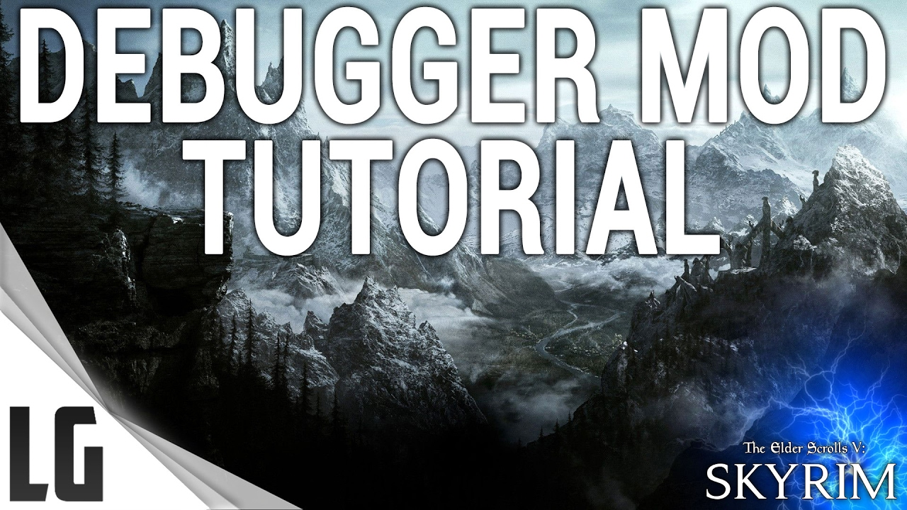 Debugger Console Mod Tutorial & Showcase Skyrim Special Edition