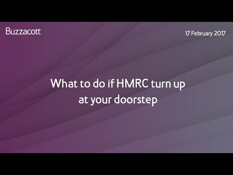 Webinar: What do if HMRC turn up at your doorstep