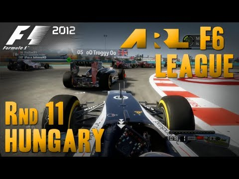 F1 2012 | ARL F6 League - Round 11, Hungary
