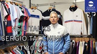 Neil Talks About New Sergio Tacchini