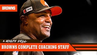 Browns Complete Coaching Staff | 2 Minute Drill