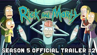 OFFICIAL TRAILER #2: Rick and Morty Season 5 | adult swim