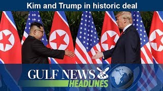 Kim and Trump in historic deal - GN Headlines