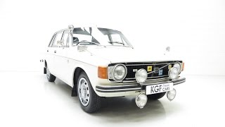 An Enthusiast Owned Volvo 144 Grand Luxe Saloon with an Incredible History File - SOLD!