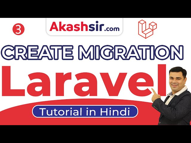 3  - Create Migration Laravel