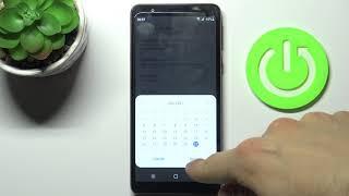 Jak změnit datum a čas na SAMSUNG Galaxy M01 Core - nastavení data a času