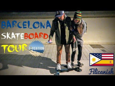 SKATE BARCELONA | ELECTRIC SKATEBOARD CITY TOUR
