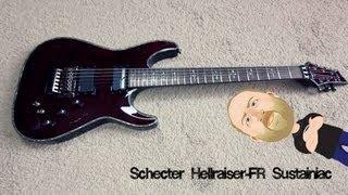 Schecter Hellraiser FR Sustainiac - Demo