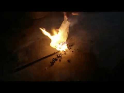 Bánh tráng đốt cháy như nilong