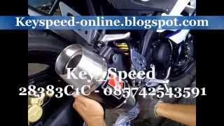 Knalpot Yamaha R15 Werkes USA Carbon By Key Speed