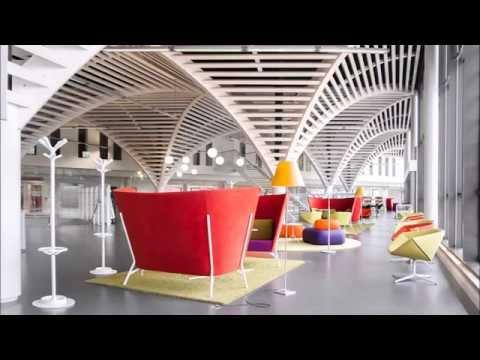 Caen University Library, France