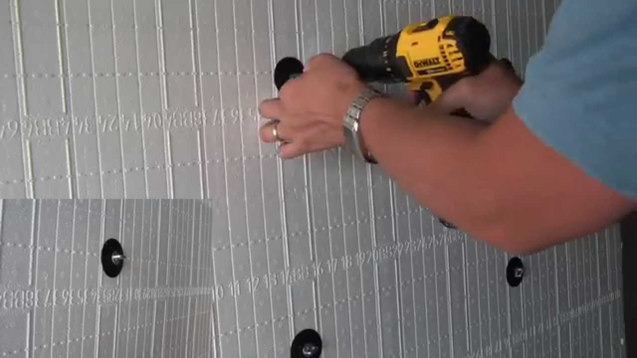 Fastening Cladding To Insulated Concrete Forms Youtube