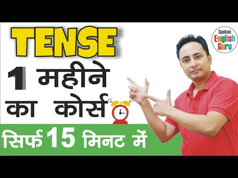 Learn Tenses in English Grammar with Examples using a Tense Chart
