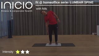 fit @ homeoffice serie: LUMBAR SPINE